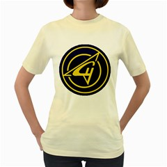 Sukhoi Women s Yellow T Shirt