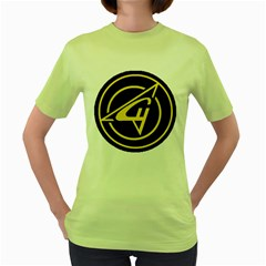 Sukhoi Women s Green T Shirt