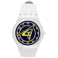 Sukhoi Round Plastic Sport Watch (m)