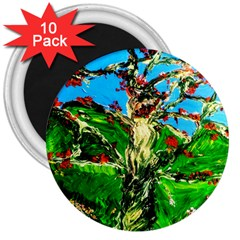 Coral Tree 2 3  Magnets (10 Pack)  by bestdesignintheworld