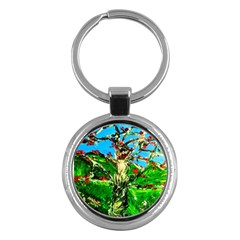 Coral Tree 2 Key Chains (round)