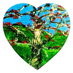 Coral Tree 2 Jigsaw Puzzle (heart)