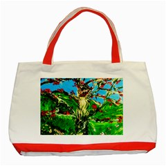 Coral Tree 2 Classic Tote Bag (red)