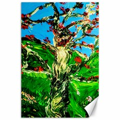 Coral Tree 2 Canvas 24  X 36