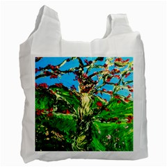 Coral Tree 2 Recycle Bag (two Side)