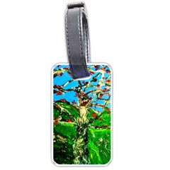 Coral Tree 2 Luggage Tags (one Side)