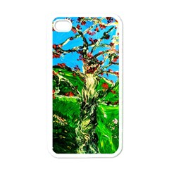 Coral Tree 2 Apple Iphone 4 Case (white)