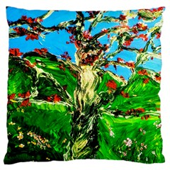 Coral Tree 2 Large Cushion Case (one Side)