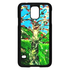 Coral Tree 2 Samsung Galaxy S5 Case (black)