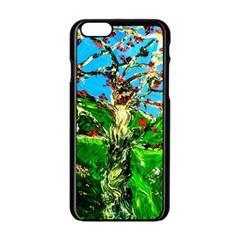 Coral Tree 2 Apple Iphone 6/6s Black Enamel Case