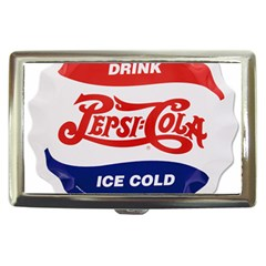 Pepsi Cola Bottle Cap Style Metal Cigarette Money Cases