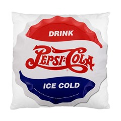 Pepsi Cola Bottle Cap Style Metal Standard Cushion Case (two Sides)