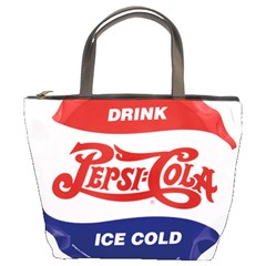 Pepsi Cola Bottle Cap Style Metal Bucket Bags