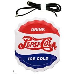 Pepsi Cola Bottle Cap Style Metal Shoulder Sling Bags by Samandel