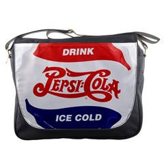 Pepsi Cola Bottle Cap Style Metal Messenger Bags