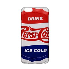 Pepsi Cola Bottle Cap Style Metal Apple Iphone 6/6s Hardshell Case