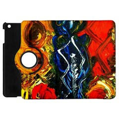 1 Butterfly 1 Apple Ipad Mini Flip 360 Case