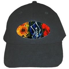 1 Butterfly 1 Black Cap