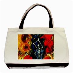 1 Butterfly 1 Basic Tote Bag (two Sides)