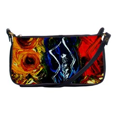 1 Butterfly 1 Shoulder Clutch Bags