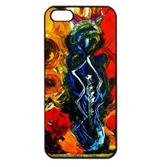 1 Butterfly 1 Apple Iphone 5 Seamless Case (black)