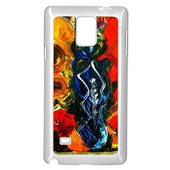 1 Butterfly 1 Samsung Galaxy Note 4 Case (white)