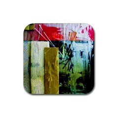 Hidden Stringsof Purity 7 Rubber Square Coaster (4 Pack)