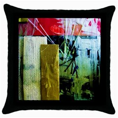 Hidden Stringsof Purity 7 Throw Pillow Case (black)