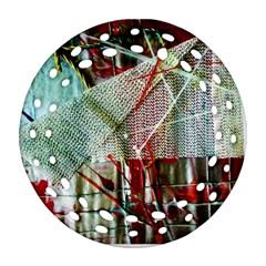 Hidden Strings Of Urity 10 Ornament (round Filigree) by bestdesignintheworld