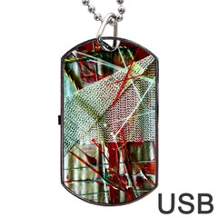 Hidden Strings Of Urity 10 Dog Tag Usb Flash (two Sides)