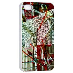Hidden Strings Of Urity 10 Apple Iphone 4/4s Seamless Case (white) by bestdesignintheworld