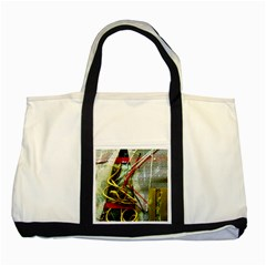 Hidden Strings Of Purity 15 Two Tone Tote Bag