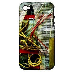 Hidden Strings Of Purity 15 Apple Iphone 4/4s Hardshell Case (pc+silicone)