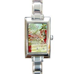Hidden Strings Of Purity 1 Rectangle Italian Charm Watch