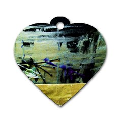 Hidden Strings Of Purity 9 Dog Tag Heart (one Side)