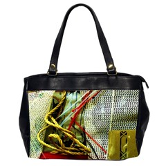 Hidden Strings Of Purity 15 Office Handbags (2 Sides)  by bestdesignintheworld