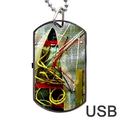 Hidden Strings Of Purity 15 Dog Tag Usb Flash (one Side) by bestdesignintheworld