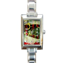 Hidden Strings Of Purity 13 Rectangle Italian Charm Watch