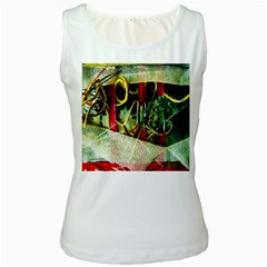 Hidden Strings Of Purity 13 Women s White Tank Top