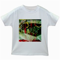 Hidden Strings Of Purity 13 Kids White T Shirts