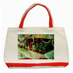 Hidden Strings Of Purity 13 Classic Tote Bag (red)
