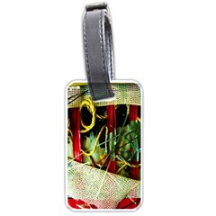 Hidden Strings Of Purity 13 Luggage Tags (one Side)
