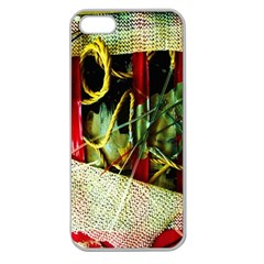 Hidden Strings Of Purity 13 Apple Seamless Iphone 5 Case (clear)