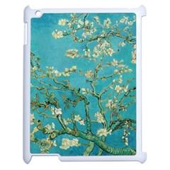 Almond Blossom  Apple Ipad 2 Case (white) by Valentinaart