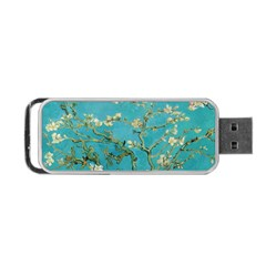 Almond Blossom  Portable Usb Flash (one Side) by Valentinaart