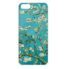 Almond Blossom  Apple Iphone 5 Seamless Case (white) by Valentinaart