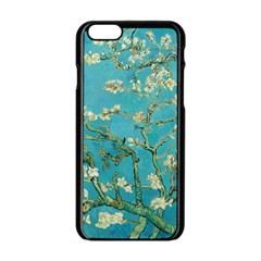 Almond Blossom  Apple Iphone 6/6s Black Enamel Case