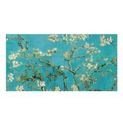 Almond Blossom  Satin Shawl