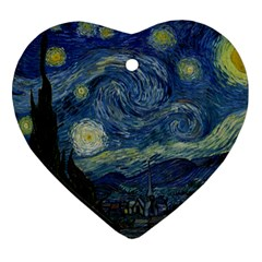 The Starry Night  Ornament (heart)