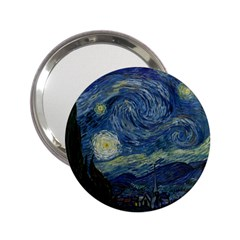 The Starry Night  2 25  Handbag Mirrors